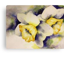 """Daffodils in Spring"" Canvas Print"