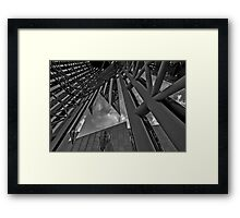 Pointy subject Abstract  Framed Print