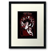 "Chasing the ""V"" Fairy- True Blood Parody Framed Print"