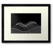 Black and White Getty Abstract Framed Print