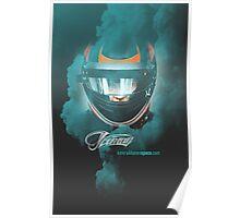 Iceman Helmet 2013 - Poster/cards - Kimi Raikkonen Poster
