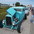 Car Show on the Interstate Highway by BCallahan