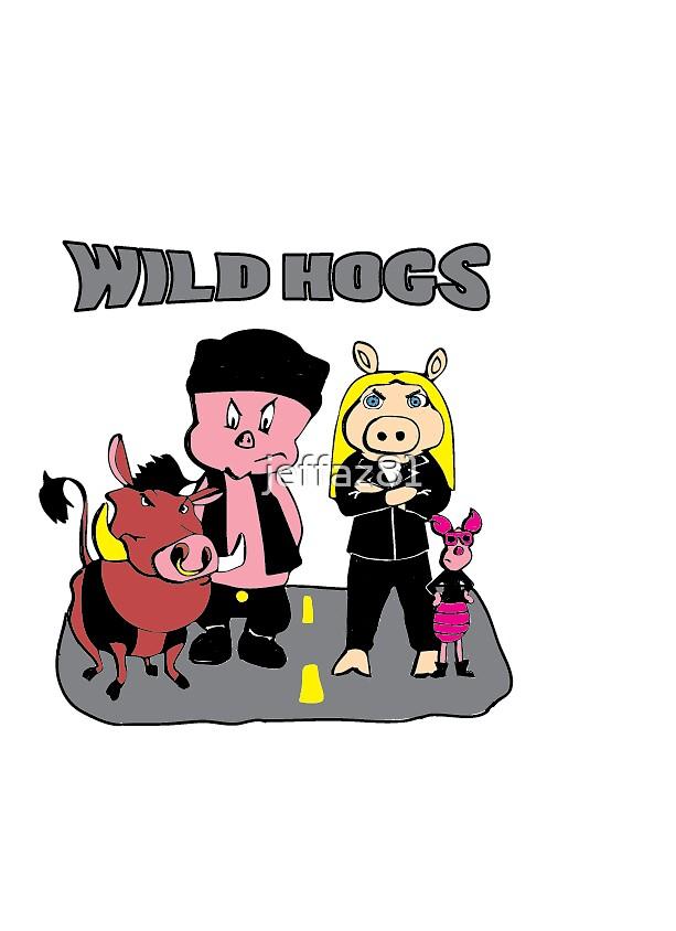 Wild Hogs by jeffaz81