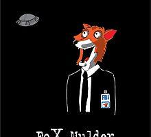 Fox Mulder by jeffaz81