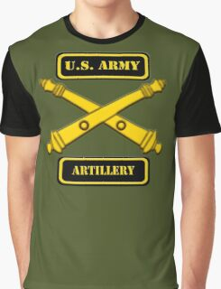 Army Artillery T-Shirt Graphic T-Shirt