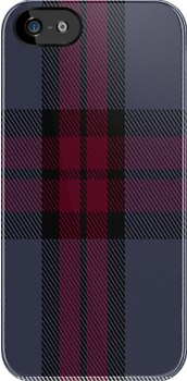 01340 University of Edinburgh Tartan Fabric Print Iphone Case by Detnecs2013