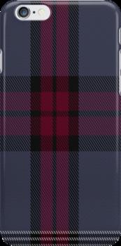 01340 University of Edinburgh Tartan Fabric Print Iphone Case by Detnecs2013