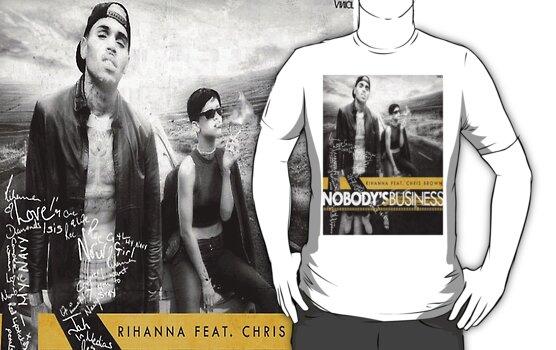 Rihanna and Chris. Nobody's Business  by HcoJontonio