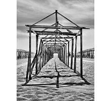 Povoa de Varzim beach in Portugal Photographic Print