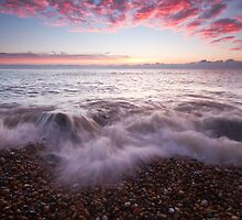 Just before sunrise on Eastbourne beach by willgudgeon