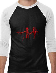 Pulp Cobra (red version) Men's Baseball ¾ T-Shirt