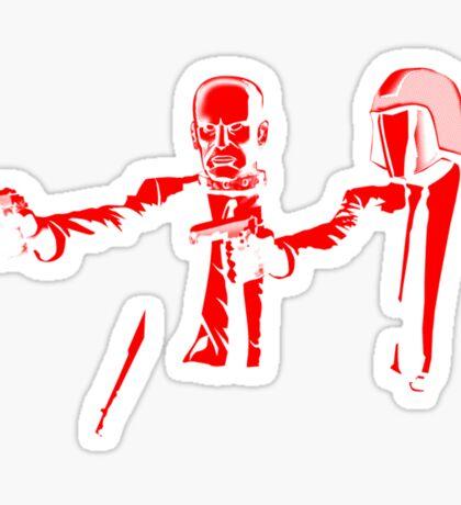 Pulp Cobra (red version) Sticker