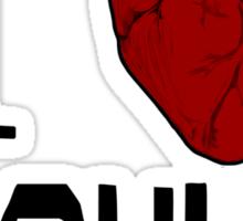Anatomical Love - Crowley Sticker