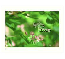 Spring Favor Art Print
