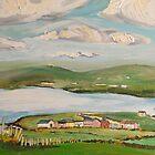 Dingle Bay, Kerry Ireland, Panel 2  by Caroline  Hajjar Duggan
