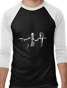 Pulp Cobra (white version) Men's Baseball ¾ T-Shirt