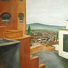 albazin view, Granada, spain by Caroline  Hajjar Duggan