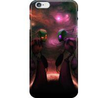 Invader Zim Fan Art - Almighty Tallest Red & Purple iPhone Case/Skin