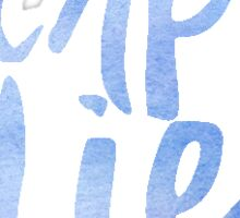 Carpe Diem (watercolor) Sticker