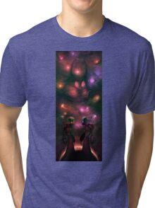 Invader Zim Fan Art - Almighty Tallest Red & Purple Tri-blend T-Shirt