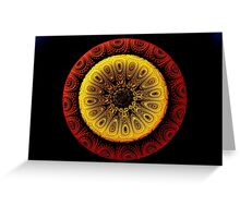 ©TAIMITIDESIGNS. -*RED & YELLOW GOLD*  Greeting Card