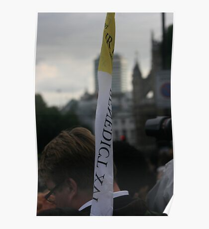 Pope Benedict in London, summer, 2011! Poster