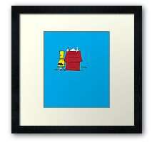 Charlie Simpson/Bart Brown Framed Print