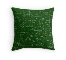 Algebra Math Sheet Throw Pillow