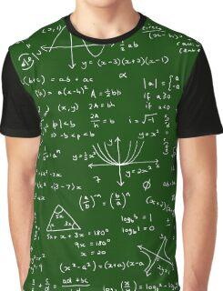 Algebra Math Sheet Graphic T-Shirt