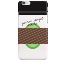 Grande Non-Fat Mocha iPhone Case/Skin