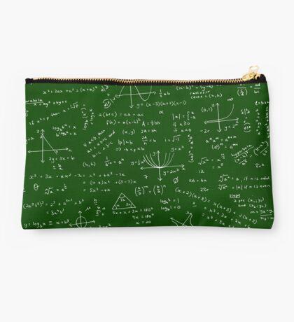 Algebra Math Sheet Studio Pouch