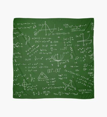 Algebra Math Sheet Scarf
