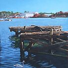 Southampton Northam River Itchen old jetty by martyee