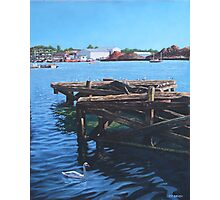 Southampton Northam River Itchen old jetty Photographic Print