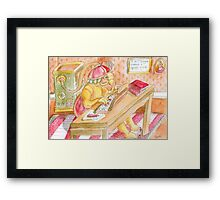 The Email Filter Framed Print