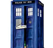 The Tardis - Just Married by simonbreeze