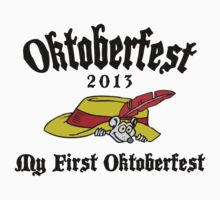 Oktoberfest 2013 My First Oktoberfest One Piece - Short Sleeve