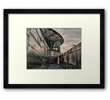 The Lowery HDR Abstract  Framed Print