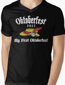 Oktoberfest 2013 My First Oktoberfest Mens V-Neck T-Shirt