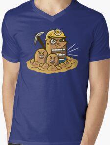 Mr. Resettrio Mens V-Neck T-Shirt