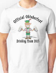 Oktoberfest 2013 Drinking Team T-Shirt