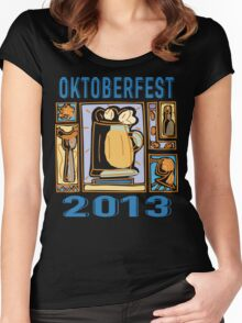 Oktoberfest 2013 Women's Fitted Scoop T-Shirt