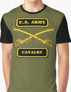 Army Cavalry T-Shirt Graphic T-Shirt