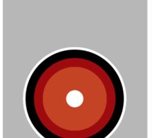 Hal 9000 Minimalist Monkey Sticker