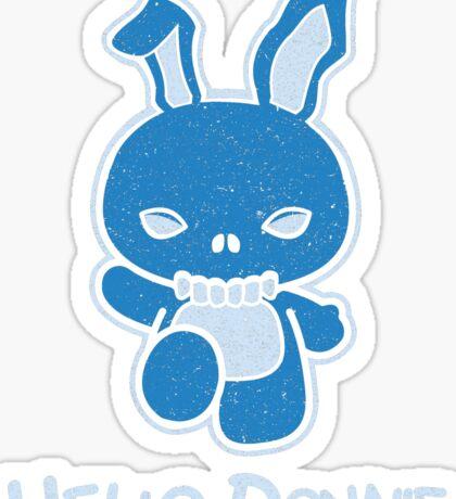 Hello Donnie Sticker