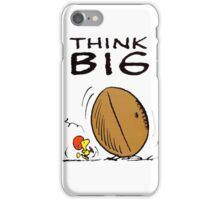Woodstock Peanuts Think Big iPhone Case/Skin