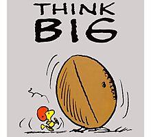 Woodstock Peanuts Think Big Photographic Print
