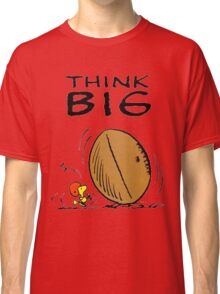 Woodstock Peanuts Think Big Classic T-Shirt