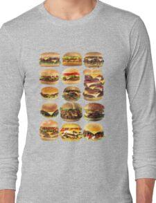 Cheese buger Long Sleeve T-Shirt