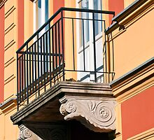 Balcony detail. by FER737NG